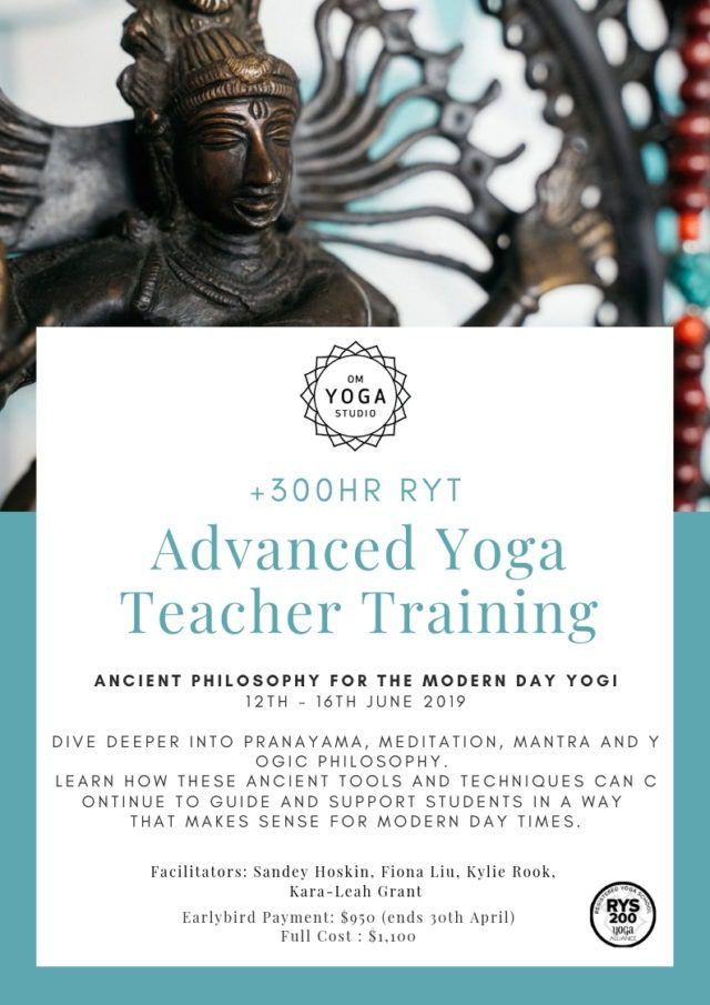 300 Hour TT Module 4 – Ancient Philosophy for The Modern Day Yogi